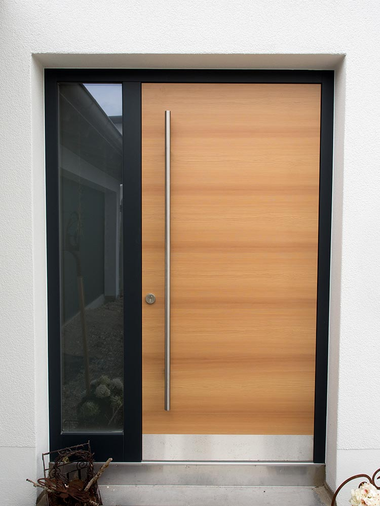 Double Entrance Doors With Glass